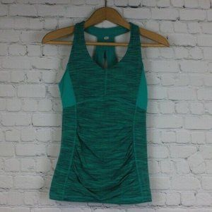Lucy XS Top Tank Workout Racerback Built In Bra